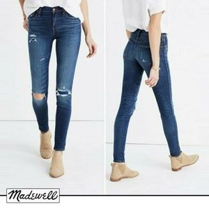Madewell High 9-Inch High-Rise : Ripped & Torn